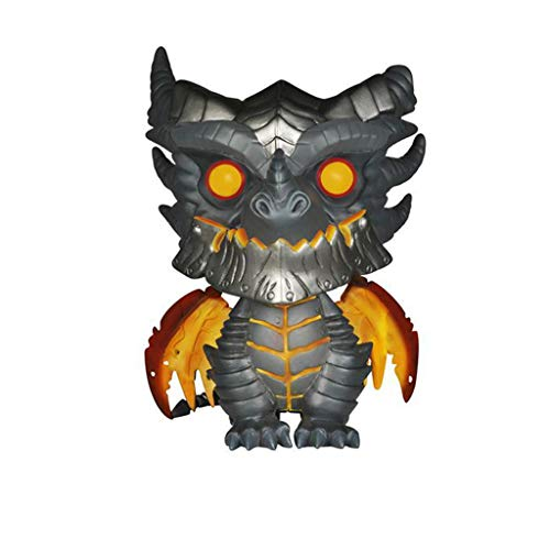 LYN Wow World of Warcraft Juego Periferico F-unko Pop Muneco de Juguete ala de Muerte Modelo Adornos Muneca Regalos Artesania Mini Juguetes