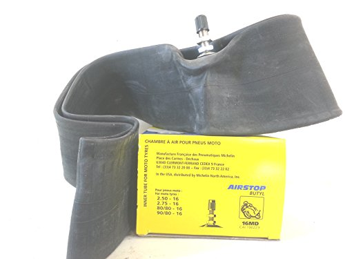 Michelin - Chambre à air moto 16 x 2.50 // 16 x 2.75 // 16 x 80/80 // 16 x 90/80