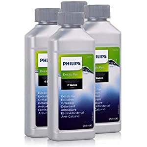 Philips Saeco CA6700/10 - Descalcificador para cafeteras automáticas (250 ml, 4 unidades)