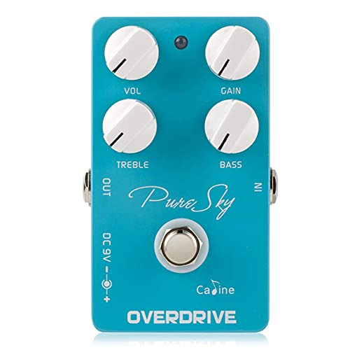Caline Pure Sky OD Guitar Pedal Effect CP-12 Highly Pure and Clean Overdrive Guitar Pedal Accessories