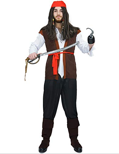PARTY FIESTA Disfraz Pirata Jack(Xl)