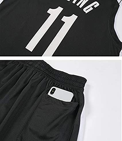 Classic Sleeveless Set 3XS-2XL MRATME Kids Jersey,Brooklyn Irving #11 Jersey Shorts Boys and Girls Unisex Suit T-Shirt Mesh Breathable