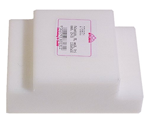 Stubai Falzstück, aus Kunststoff PE, weiß, Prisma 25+35 mm 130x95x50mm mit Handgriff