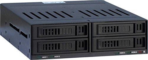 Inter-Tech 88884061 HDD Wechselrahmen X-3531, 4X 2.5 SATA