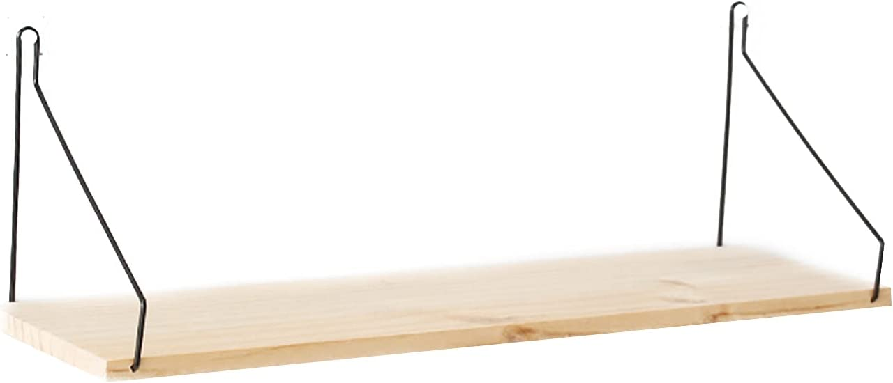 Taowan security Wall Mounted Wooden Shelf Excellence Shelves Wood Solid Storage