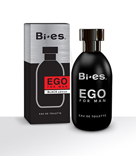 bi-es Ego negro Eau de Toilette Spray para hombres 100ml