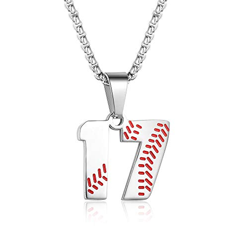 number 17 necklace - 1