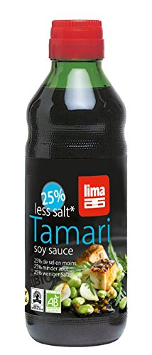 LIMA Tamari 25% weniger Salz, 3er Pack (3 x 250 g)
