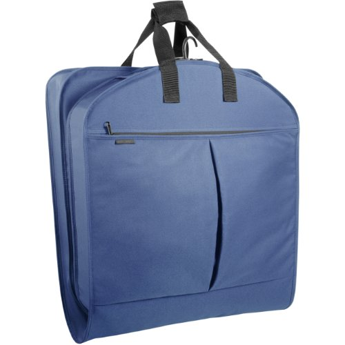 Wally Bags 52' Garment Bag with Pockets, Navy