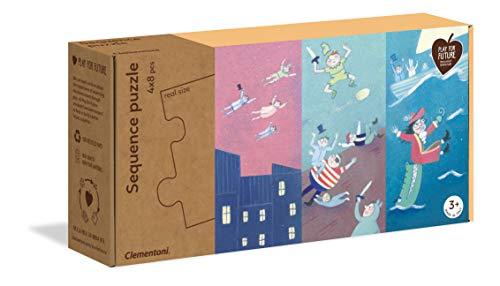 Clementoni Play for Future- Sequence Puzles Secuencias: Antes, Ahora, Luego, Multicolor (16230) , color/modelo surtido