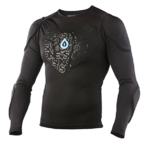 SIXSIXONE Protektoren Unterwäsche Sub Gear Shirt Long Sleeve, Black, S
