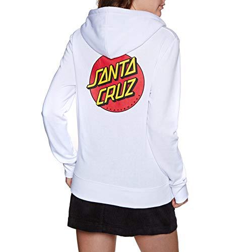 Santa Cruz Sweats À Capuche Classic Dot Blanc S (Small)