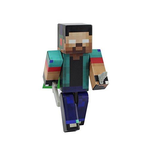 EnderToys Herobrine Boy Action Figure Toy, 4 Inch Custom Series Figurines