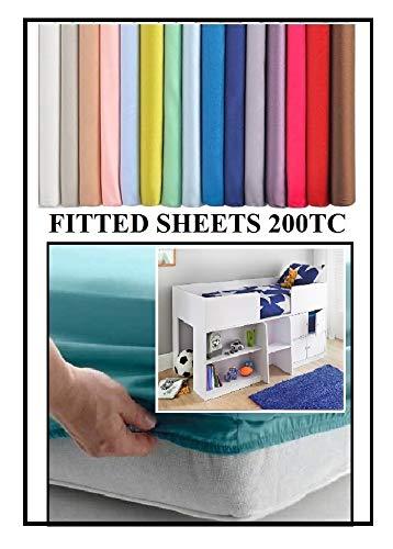 Bedtime Comforts Ltd Sábana bajera ajustable de 69 cm x 175 cm...
