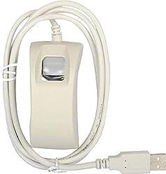 Yukonics Startek FM220U Biometric Fingerprint Scanner with USB 2.0 Interface with RD Device Fingerprint Reader for Digital Verification, Aadhar, Apna CSC, Digilocker, Jeevan Pramaan etc.,Yukonics