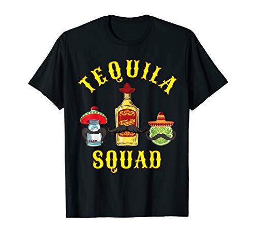Tequila Squad Shirt Funny Trinken Cinco De Mayo TShirt