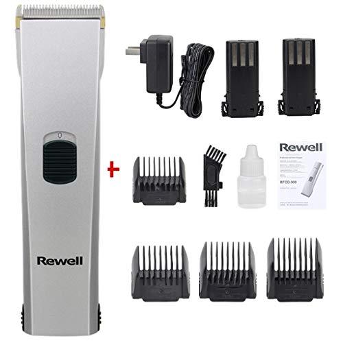 Selbst Haircut Kit mit Power, Haarschneider, Haarschneider Akku-Barttrimmer for Männer - Wiederaufladbare Grooming Kit for Gesichtsbehaarung (Color : Silver)