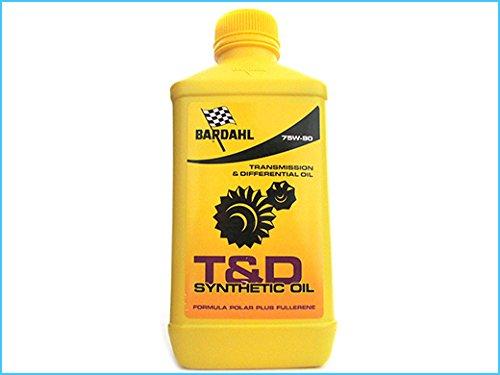 BARDAHL T&D Synthetic Oil 75W90 Lubrificanti Olio Trasimissioni Differenziali Ingranaggi Cambio 1 LT
