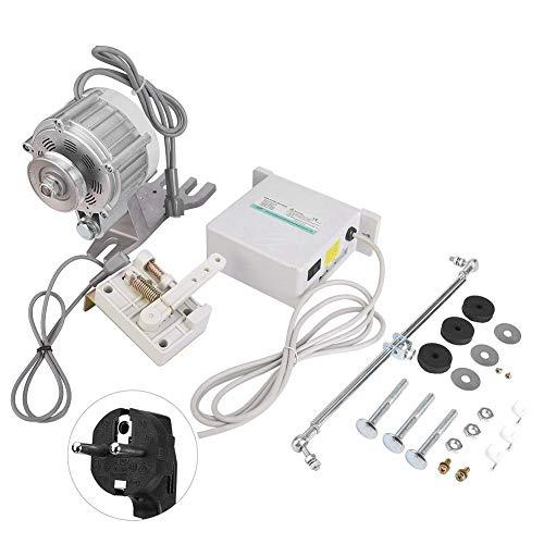 wosume 【】 Motor de la máquina de Coser Motor, 550W 0~5500 RPM Máquina de Coser Industrial Máquina de Coser del Motor Servomotor sin escobillas de Ahorro de energía(EU)