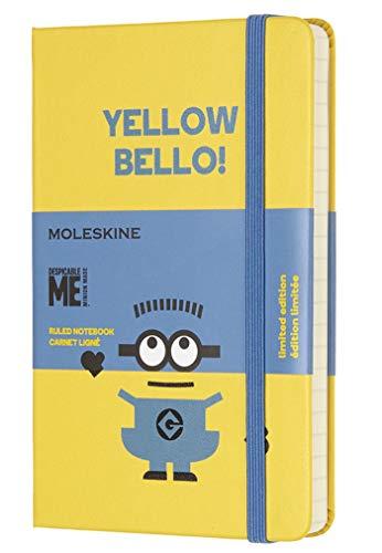 Moleskine Notizbuch Minions, Pocket, A6, Liniert, Hard Cover, Sonnenblumen Gelb