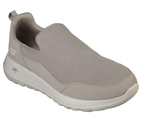 Skechers Men's Gowalk Max Privy-Slip-On Walking Shoe Sneaker, Khaki, 8 M US
