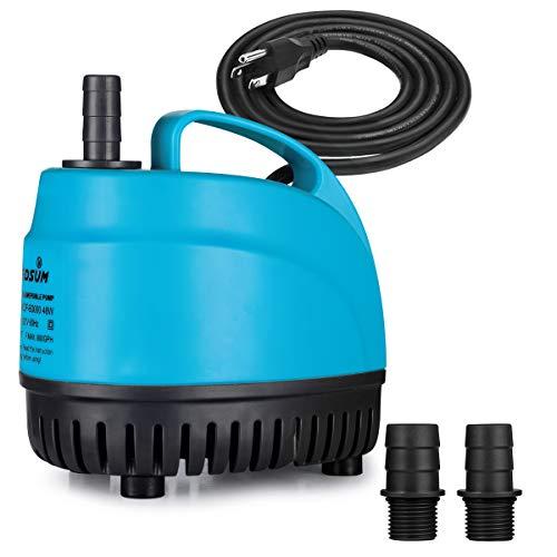 KEDSUM 800GPH Submersible Water Pum…