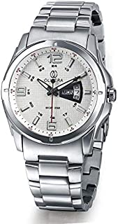 Olivera OGS703-WHITE/SILVER Watch For Men