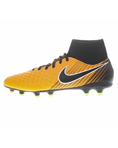 Nike Herren Magista Onda II DF FG Fußballschuhe, Orange (Laser Orange/Black-White-Volt-White), 43 EU (8.5 UK)