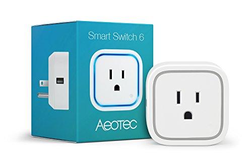 Aeotec by Aeon Labs ZW096 ZW096-A Smart Switch 6, Small, White