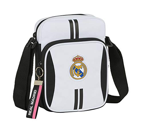 Safta Bandolera con Bolsillo Exterior de Real Madrid 1ª Equipación 20/21
