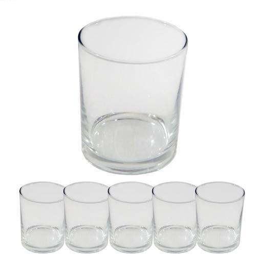 takestop® Set 6 Bicchierini da LIQUORE CICCHETTI CICCHETTO 4.8 cl K12 Ø 45 H 46 MM Shot Rum Vodka in Vetro Bicchiere CHUPITOS