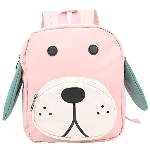 Xirfuni Diseño Animal Lindo Materiales duraderos Mochila Preescolar, Mochila para niños pequeños, Cojín Cinturón de Comodidad Ajustable Bebés para niños pequeños(Pink)