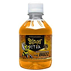 in budget affordable Stinger Detox Buzz 5X Extra Strong Drink (8 FL OZ – Peach Lemonade)