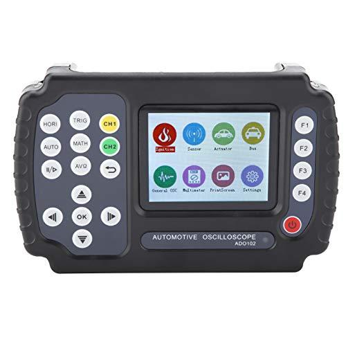 Osciloscopio automotriz Osciloscopio digital AC100-240V retroiluminación ajustable para automoción con interfaz USB(European regulations)