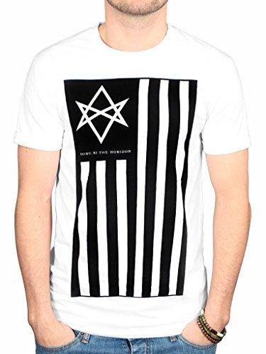 Bring Me The Horizon Antivist T Shirt (White)