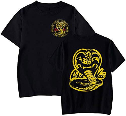 Foreverdai Camiseta Cobra Kai Inspirada en Karate Kid (L)