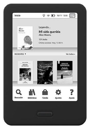 bq Cervantes 8G - Liseuse avec écran 6 Pouces