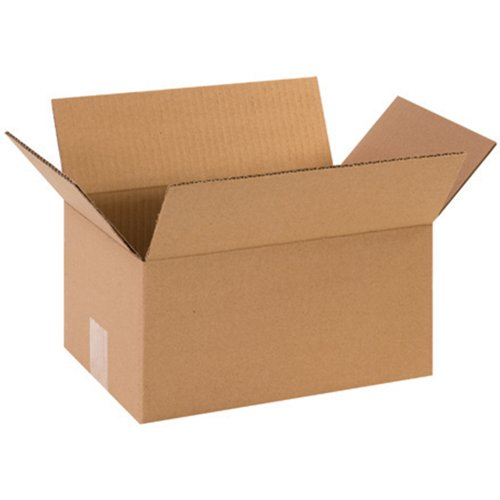 Aviditi 1286 Corrugated Cardboard Box 12' L x 8' W x 6' H, Kraft, for Shipping, Packing and Moving (Pack of 25)