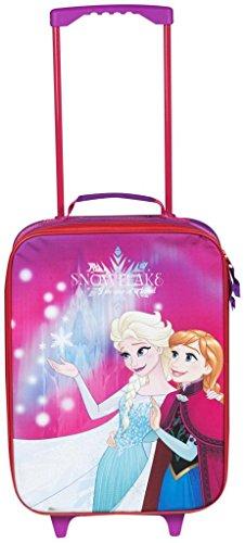 Sambro Disney Frozen Kinder-Trolley, perfekt für Urlaub oder Übernachtung, Mehrfarbig, 41