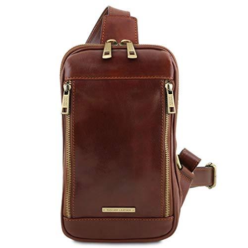 Tuscany Leather Martin Monospalla in pelle Marrone