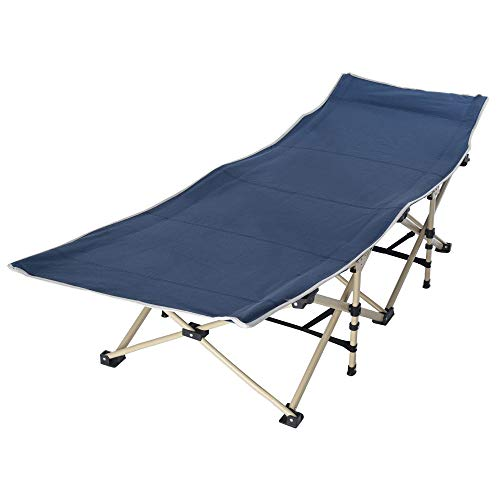 Nesee Foldable Single Folding Bed, Lightweight Portable Office Home Nap Bed Outdoor Camping Bed Invisible Folding Bed for Heavy People (Ship from US)