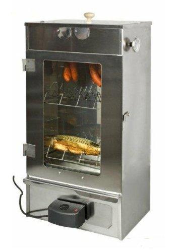 Räucherschrank Grill-Elektro verzinkt mit Glastüre EuroSmoker