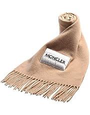 (モンクレール) MONCLER ウール100% 中綿ロゴ フリンジ マフラー [MCL3C71000A0146]ベージュ(235) / - [並行輸入品]