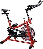 Bicicleta de ejercicio Bicicleta de fitness interior giratoria bicicleta silenciosa con pantalla Fitness y pérdida de peso spinning bike Oficina bicicleta ejercicio fitness equipo puede soportar 200kg