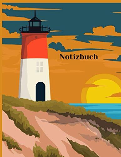 Notizbuch: Leuchtturm notizbuch a5 blanko softcover | 200 Seiten 8.5×11 Zoll | Skizzenbuch zum Zeichnen, Malen, Schreiben oder Skizzieren