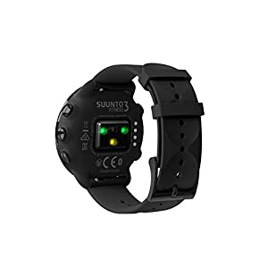 Suunto 3, Sports Watch with Wrist-Based Heart Rate, 24/7 Fitness Activity and Recovery Tracking - All Black