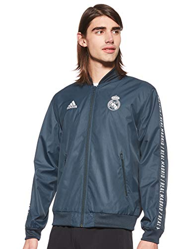 adidas Herren REAL Anthem JKT Jacket, tech Onix, M