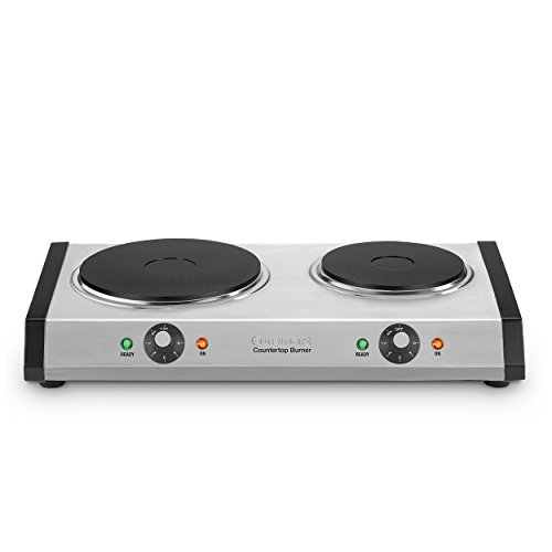Cuisinart CB-60P1 Cast-Iron Double Burner, 11.5