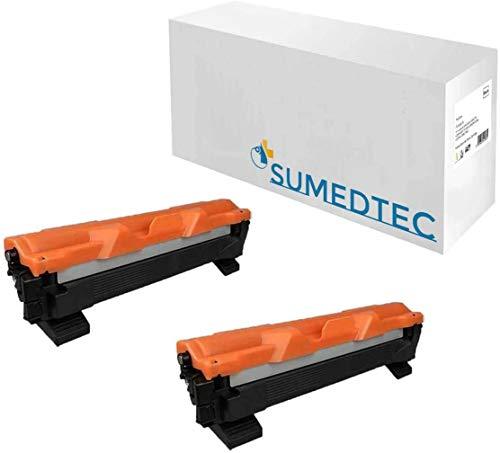 TN1050 2X Tóner para impresoraTONER Brother HL1210W (Tóner no Original). 2xBrother Compatible. Enviado Desde Madrid.