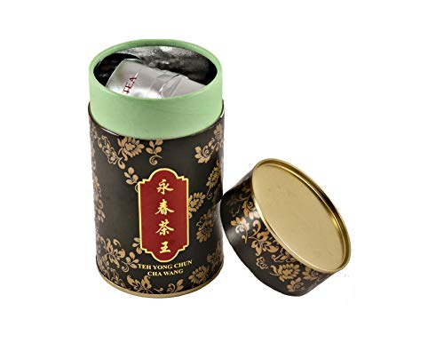 Thaitee Tie Guan Yin Oolong Tea, Yong Chun Cha Wang; Iron Goddess of Mercy, Hot or Cold Brew, King of all Teas, Premium Loose Leaf Chinese Wulong Golden Tea With Flowery Fragrance & Rich Aroma, Halal